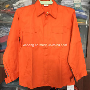 Safety Jacket 100%Cotton Workwear Southeast Market Design pictures & photos