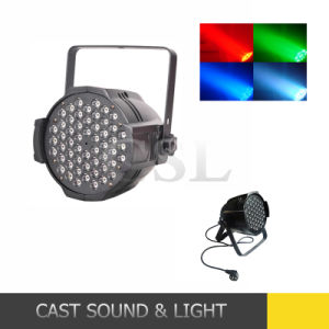 Professional RGBW 54*3W PAR LED Stage Lights (CSL-654A) pictures & photos