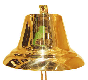 Brass Ship Bell with Polishing and Smooth Surface A8-S025