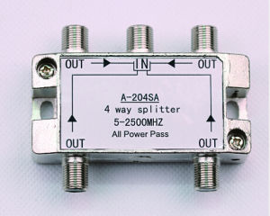 4way 5-2500MHz Smatv Splitter (SHJ-A204SA) pictures & photos