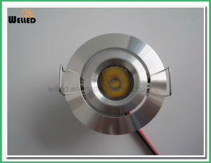 3W CREE Round LED Under Cabinet Light for Kitchen, Wardrobe or Bookcase Lighting pictures & photos
