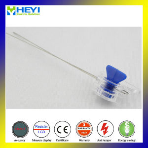 Plastic Meter Seal with 8 Inch Stainless Wire Bar Code Protection Tamper pictures & photos