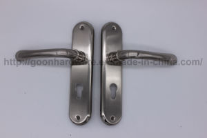 Aluminum Handle on Iron Plate 051 pictures & photos