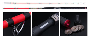 FUJI Guide High Carbon Xh Action Over Hard Sankehead Rod Black Fish Rod pictures & photos