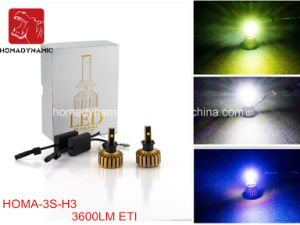Auto LED Headlight Bulb Motorcycle and Car LED Headlight H1/H3/H7 pictures & photos