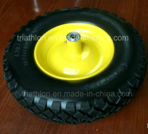 16X4.80/4.00-8 R1 Flat Free Wheel Barrow Wheels pictures & photos