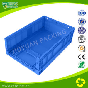 Plastic Stackable and Foldable Storage Crate for Transport pictures & photos