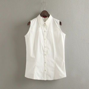 Ladies′ Sleeveless Classic Shirt (XDS15001)