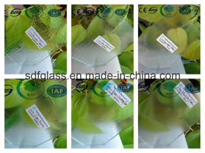 Clear Ancient Figure Patterned Glass with Ce, ISO (3-8mm) pictures & photos