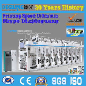 8 Color Rotogravure Printing Machine for Plastic Film pictures & photos