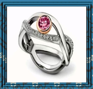Christmas Is The Most Popular Stainless Steel Ring, 316 Women (YC-10017)