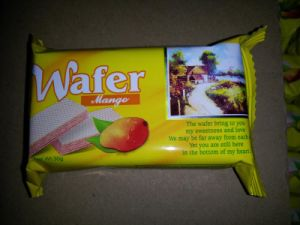 30g Small Pack Mango Flavor Wafer