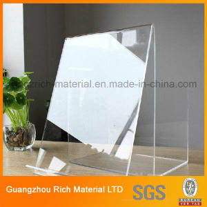 Acrylic Display Showcase for Promotional Brochure/Acrylic Display Stand pictures & photos
