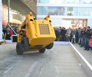 Armored Wheel Skid Steer Loader Ws65 with Optional Attachments