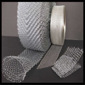 Stainless Steel Knitted Wire Mesh Filters/Woven Wire Mesh Application Stainless Steel Wire Mesh pictures & photos