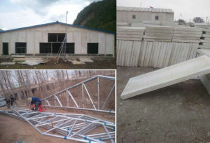 Steel Fabrication Glass Fiber Reinforced Plastic Panel Chicken House / Farm / Room pictures & photos