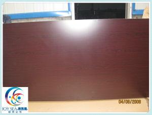 Melamine MDF Melamine Laminated Medium Fiberboard with Film pictures & photos