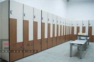 Solid Phenolic HPL Wardrobe for Gymnasium, Fitnessroom, Stadium pictures & photos