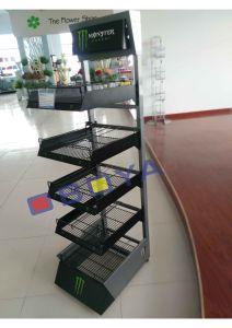 Cola Metal Shelf, Rack for Supermarket pictures & photos