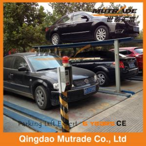 Pit Four Post Hydraulic Car Stacker for Parking pictures & photos