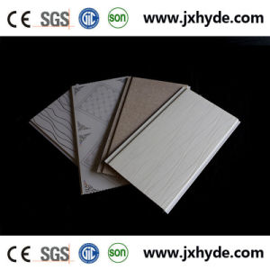8*250mm Wateproof Decoration PVC Panel for Wall and Ceiling Hot Stamping / Lamination pictures & photos