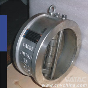 API 594 Dual Plate Wafer Check Valve pictures & photos