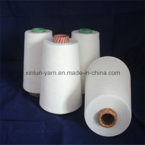 45s/1 Polyester Cotton 80/20 Spun Yarn for Weaving and Knitting pictures & photos