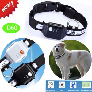 Newest IP67 Waterproof Pets GPS Tracker with Geo-Fence D60 pictures & photos