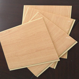 Wooden Pattern Hot Stamping PVC Panel PVC Ceiling Panel and Wall Panel (RN-175) pictures & photos