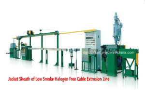 Manufacturing Equipment Cable Jacket Sheath Extrusion Line pictures & photos