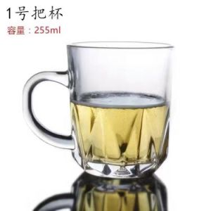 Promotional Party Glass Cup with Handle Glassware Kb-J0096 pictures & photos