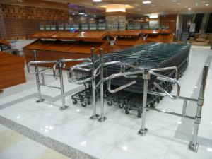 Mechanical Turnstile, Supermarket Gate, Mechanical Gate pictures & photos