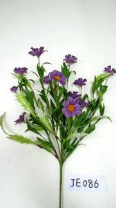 Je086 Spring Colorful Handmade Foam & Sackcloth Flower Spray Artificial Flowers