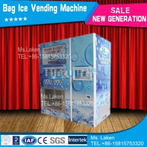 Water and Ice Vending Machine with Automatic Seal Bag Function (F-51) pictures & photos