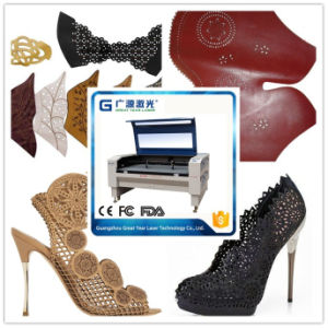 Leather Shoes Laser Cutting Machine for Shoes Factory pictures & photos