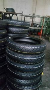 High Performance Motorcross Tubeless Rubber Tyre (110/80-17) pictures & photos