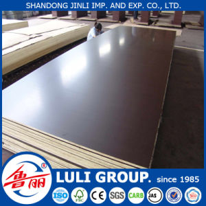 Brown Film Faced Plywood /Construction Plywood From China Luli Group pictures & photos