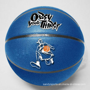 Hot Sell Promotional Official Size PU Leather Laminated Basketball pictures & photos