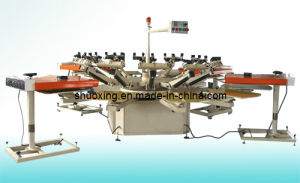 Small Automatic Carousel Screen Printing Machine, T Shirt Screen Printer (SP-8STP) pictures & photos