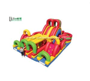 Commercial Colorful Inflatable Obstacle Course (O016)