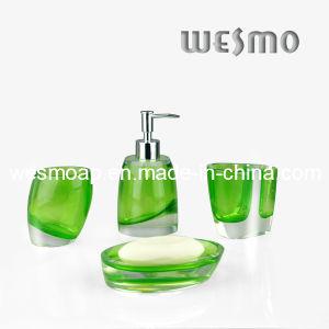 Green Polyresin Bathroom Accessory/Bath Set/Bath Collection (WBP0336A) pictures & photos