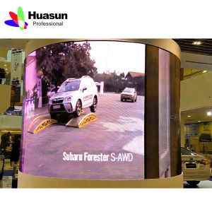 Flexible Soft LED Curtain Display pictures & photos