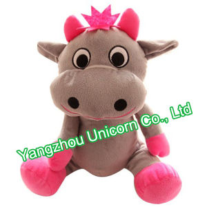 CE Baby Gift Soft Stuffed Animal Cow Plush Toy pictures & photos
