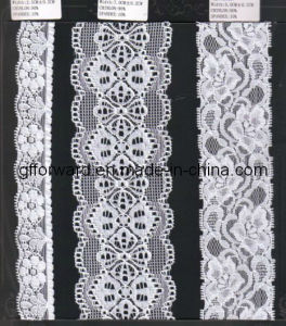 Factory Wholesale Super Stretch Lace (carry OEKO-TEX certification W70007) pictures & photos
