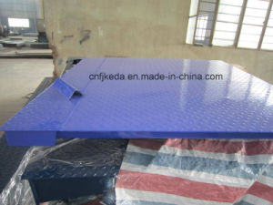 Weighing Capacity 1, 000-3, 000kg Industry Pallet Electronic Floor Scale pictures & photos