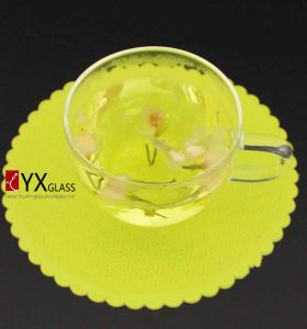 130ml Glass coffee Cup for Italy Market/Glass Coffee Mug/ Glass Tea Cup/ Glass Tea Mug with Glass Handle/Glass Water Tumbler pictures & photos