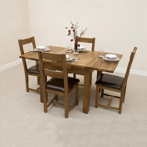 China Dining Room Furniture Set Wooden Dining Table And