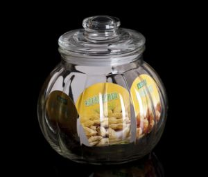 Sealed Glass Jar Tea Jar Coffee Jar pictures & photos
