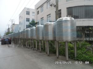 1000L Sanitary Stainless Steel Steam Heating Mixing Tank (ACE-JBG-T3) pictures & photos