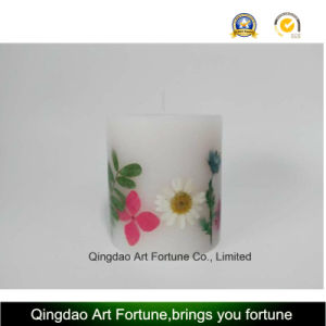 Dry Flower Inclusion Candle--Hand Pour-Medium Size pictures & photos